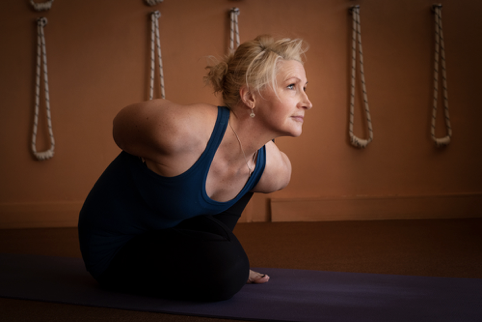 Pose of the Week: Marichyasana 2